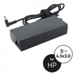 Notebook Adapter HP 19.5V 90W 4.62A 4.5x3.0+pin(90angle,blu)