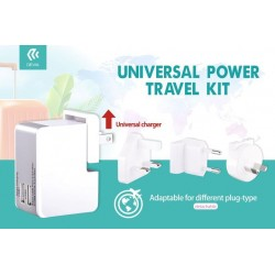 Universal Power Travel Kit 2 OUT 2.5 A.