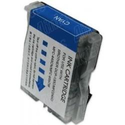 Compatível 38ML Brother LC51 LC970 LC1000 Azul